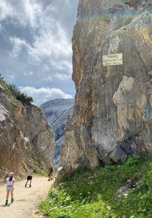 Osterfelderkopf Zugspitze