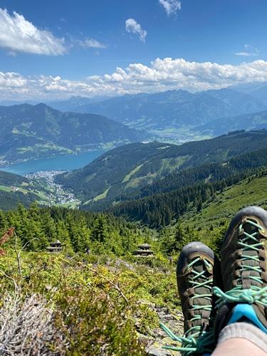 Blick von der Schmittenhöhe Zell am See
